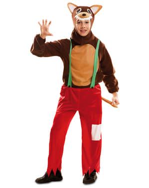 Stor Styg Ulv Kostume til Drenge