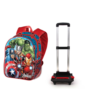 Ghiozdan cu rotile The Avengers - Marvel