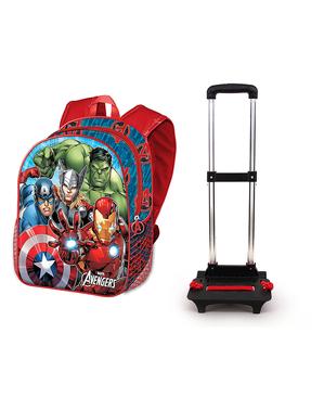 Sac à dos à roulettes Avengers - Marvel