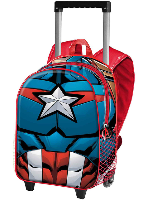 Plecak na kółkach Kapitan Ameryka dla dzieci - Avengers