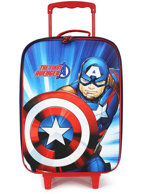 Maleta Capitán América infantil - Los Vengadores