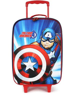 子供のためのキャプテンアメリカスーツケース - アベンジャーズ