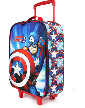 Captain America Koffer für Kinder - Marvel´s The Avengers