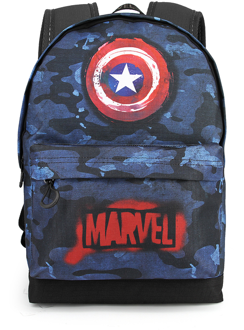 Captain America Camouflage Backpack - The Avengers