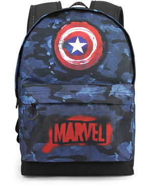 Captain America Rucksack Tarnfarbe - Marvel´s The Avengers