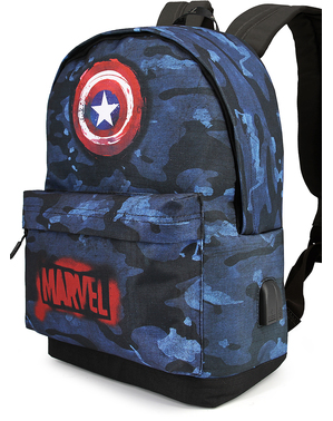Mochila de Capitán América camuflaje - Los Vengadores