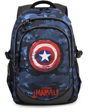 Captain America Blå Kamouflageryggsäck - The Avengers