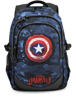 Captain America Blue Camouflage Rygsæk - The Avengers