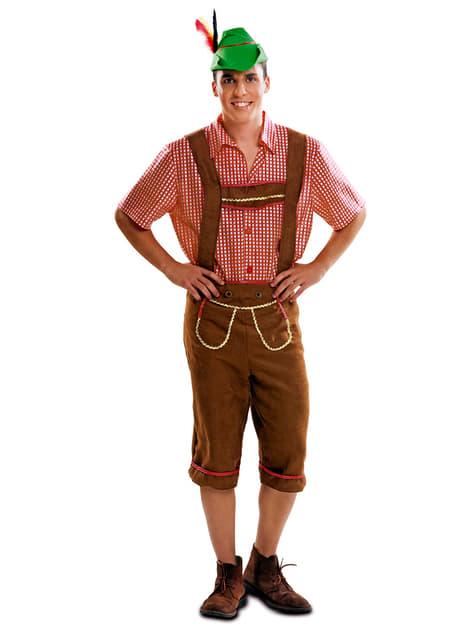 Déguisement bavarois allemand homme