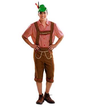 Tiroler Lederhose Kostüm für Herren