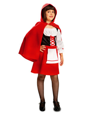 Girl's Woodland Little Red Riding Hood Costume