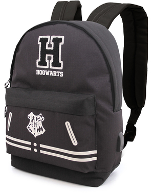 Black Hogwarts Backpack - Harry Potter