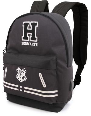 Svart Hogwarts ryggsäck - Harry Potter