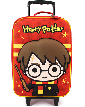 Maleta 3D Harry Potter infantil