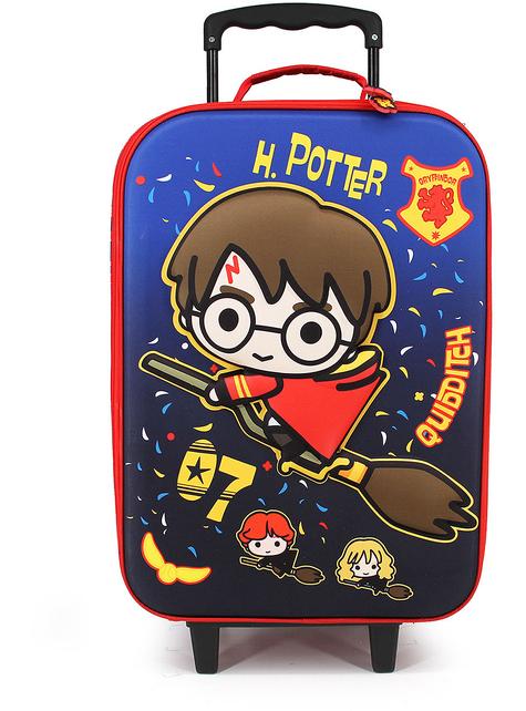 Maleta 3D Harry Potter Quidditch infantil