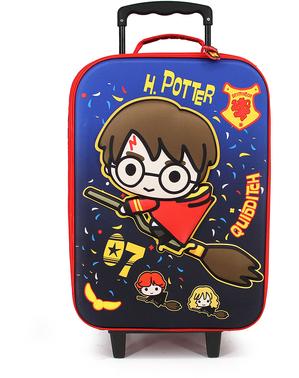 Valiză 3D Harry Potter Quidditch pentru copii