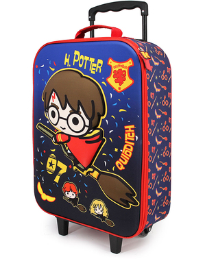 Maleta 3D Harry Potter Quidditch infantil