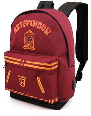 Bordowy plecak Gryffindor - Harry Potter