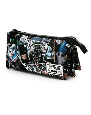 Estuche del Joker con tres compartimentos