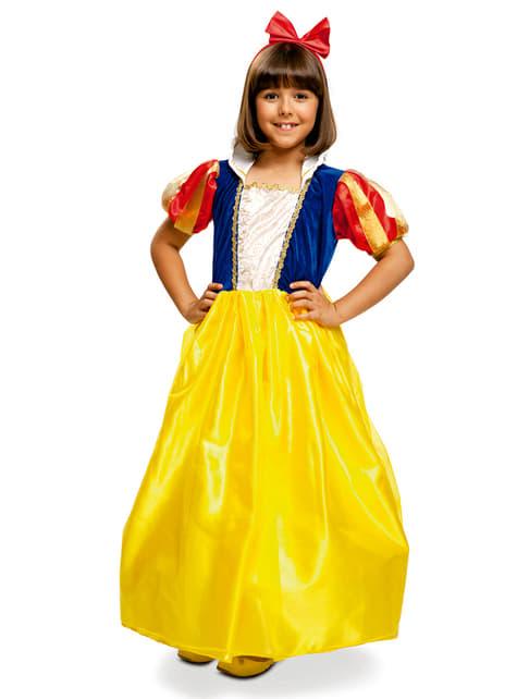 Disfraz de princesa de las nieves classic para niña