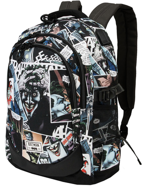 Comic Strip Joker Backpack - DC Comics