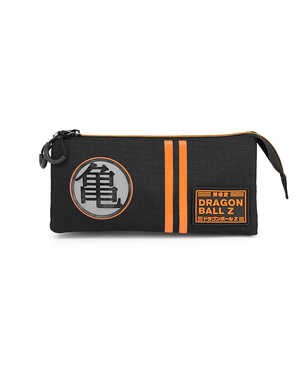 Dragon Ball Z Pencil Case with Three Compartments