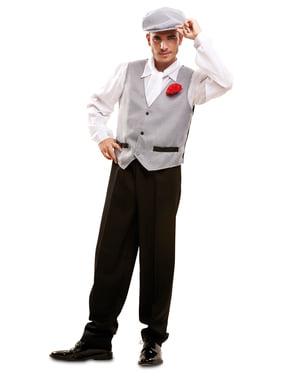 Tradisjonell Madrilenisk Kostyme Mann