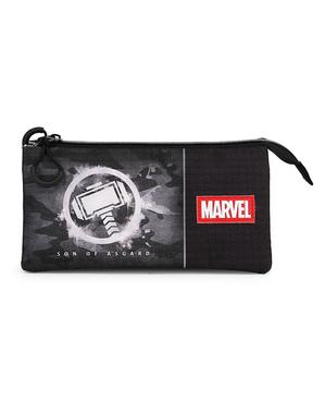 Estuche de Thor con tres compartimentos - Los Vengadores