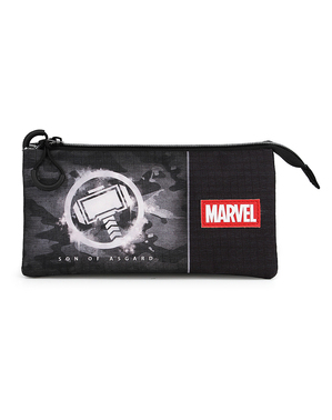 Thor Three Compartment Pencil Case - The Avengers