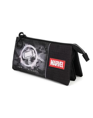 Estojo de Thor com três compartimentos - Os Vingadores