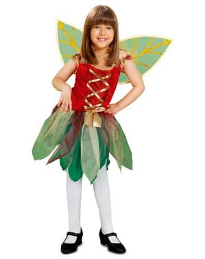 תלבושות הפיה הקסומה של הילדה