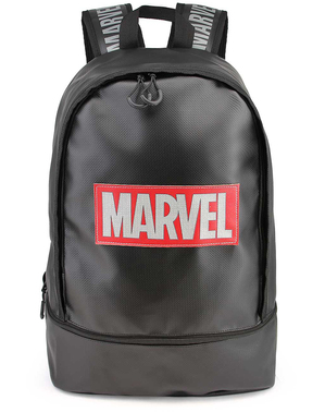 Czarny plecak Marvel