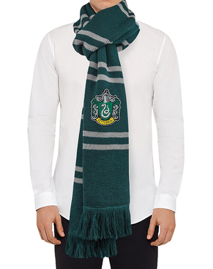 Slytherin Schal deluxe - Harry Potter