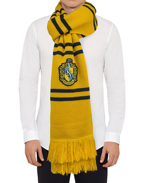 Deluxe Hufflepuff Scarf- Harry Potter