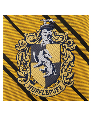 Corbata Hufflepuff - Harry Potter