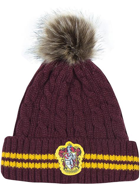 Gorro Gryffindor con pompón - Harry Potter