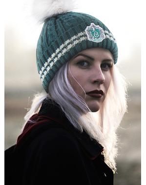 Slytherin Beanie hat with Pompom - Harry Potter
