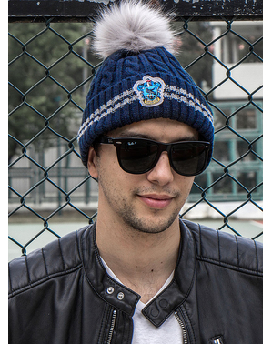 Ravenclaw Beanie hat with Pompom - Harry Potter