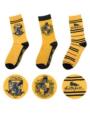 Hufflepuff Socks (Pack of 3) - Harry Potter