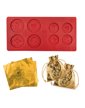 Harry Potter Gringotts Chocolate Coin Silicone Mould