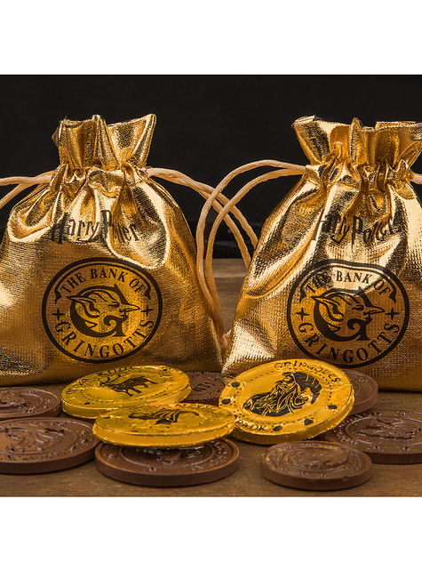 Molde de silicona de Harry Potter de monedas de Gringotts para chocolate