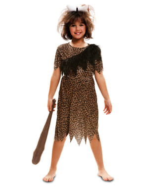 Dívčí kostým pračlověk