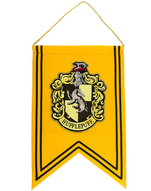 Estandarte Hufflepuff - Harry Potter