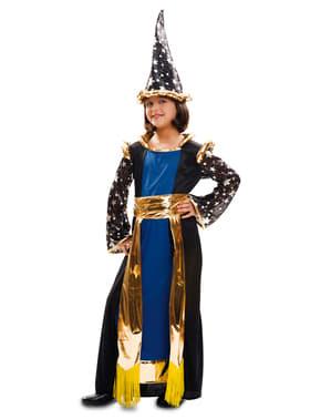 Girl's Powerful Wizard Costume