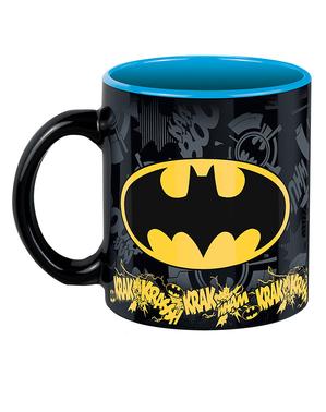 Batman Geschenk Set: Tasse, Notizbuch, Schlüsselanhänger