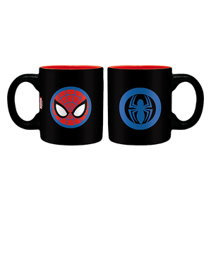 Coffret cadeau Spiderman: mug, verre, porte-clés - Marvel