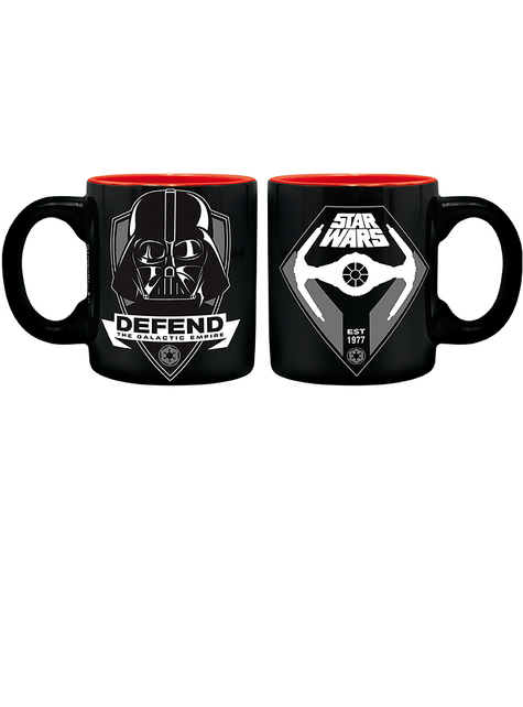 Pack regalo Darth Vader: Taza, vaso, llavero - Star Wars