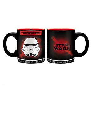 Stormtrooper-cadeauset: mok, glas, sleutelhanger - Star Wars