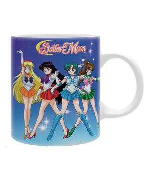 Sailor Moon ajándék szett: Bögre, Notebook, kulcstartó