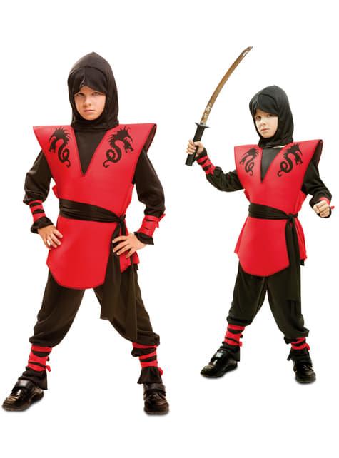 Boy's Kombat Ninja Costume